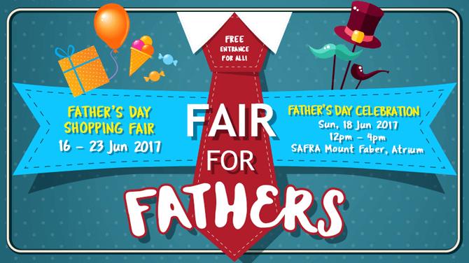 Fair For Fathers, SAFRA Mount Faber, June 2017
