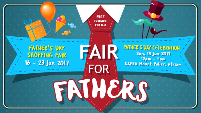 Fair For Fathers, SAFRA Mount Faber, June 2017