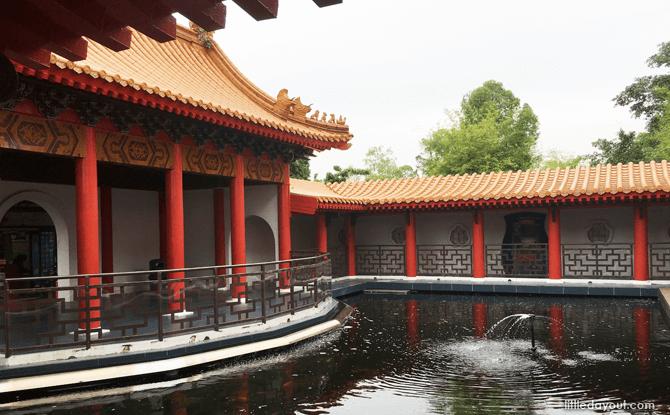 Chinese Garden fish pond