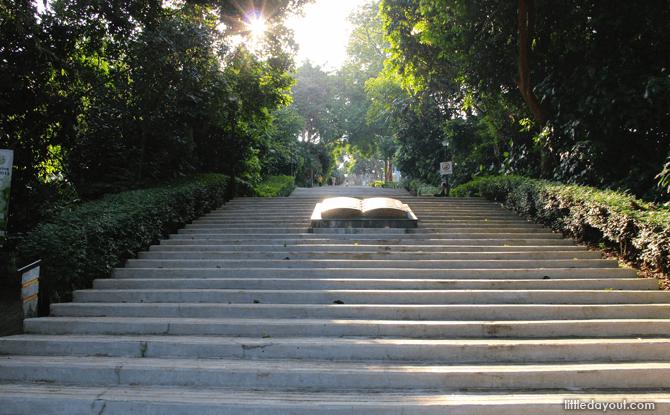 Historic Steps Bukit Batok Park