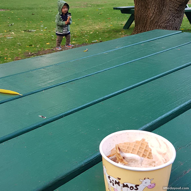 What's a family vacation at Margaret River without ice cream? Simmo's Ice Creamery