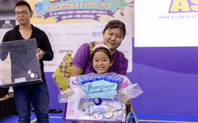 SmartKids Asia 2016 - Daily Lucky Draws