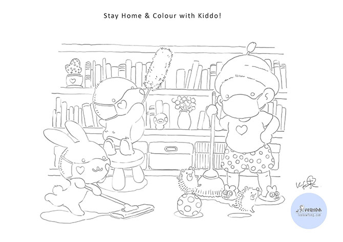 Colouring sheet initiative