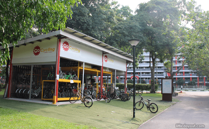 GoCycling Bik Rental at Punggol Park