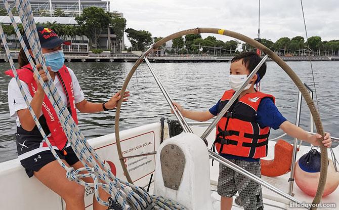 DBS Sailing By The Bay: Set Sail Around Marina Bay
