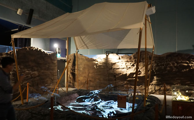 DinoQuest Exhibition's Dig Site, Science Centre Singapore