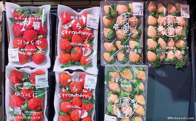Snow Strawberries