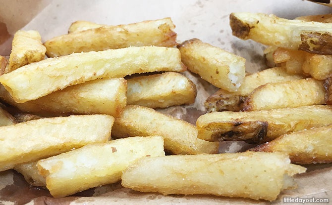 Cajon style fries at Five Guys
