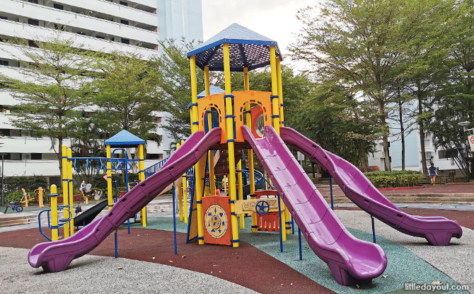 Playground at Blk 306, Jurong East Street 32