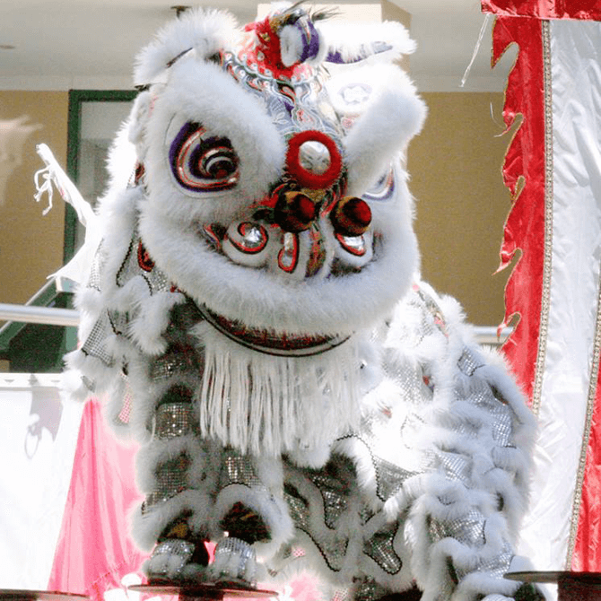 Lion dance group in Singapore