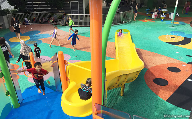 Shopping mall playground at Northpoint City