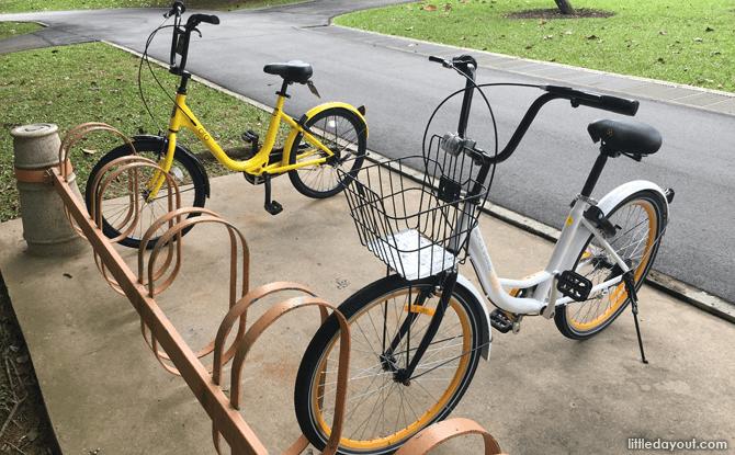oBike and Ofo Bikes