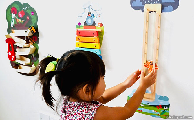 Oribel's range of VertiPlay Wall Toys are well-made and well-designed toys