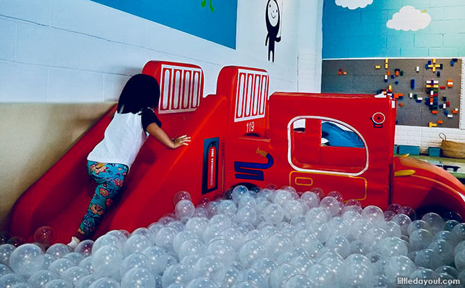 Visiting The Petite Park, Indoor Playground at Kallang Wave Mall