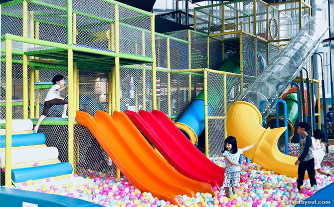 Playtopia Indoor playground, Our Tampines Hub