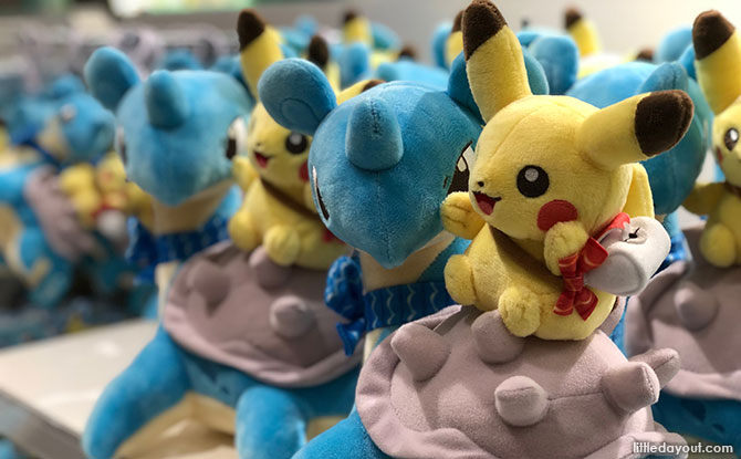 Lapras with Pikachu on its back