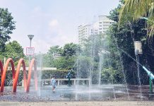 Water Play Area, Punggol Waterway Park