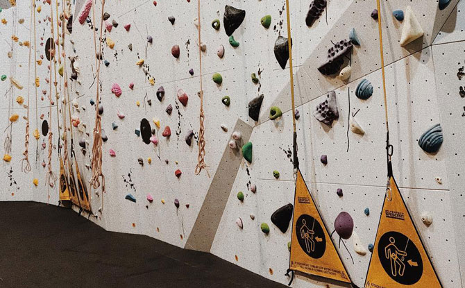 Ground Up - Rock Climbing in Singapore