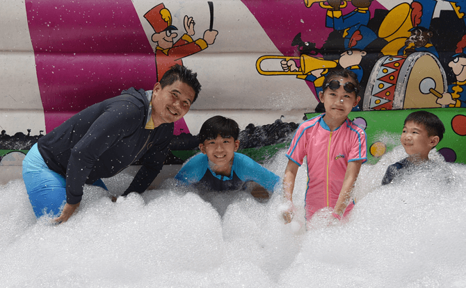 SAFRA Mount Faber's Super Soaker Open House