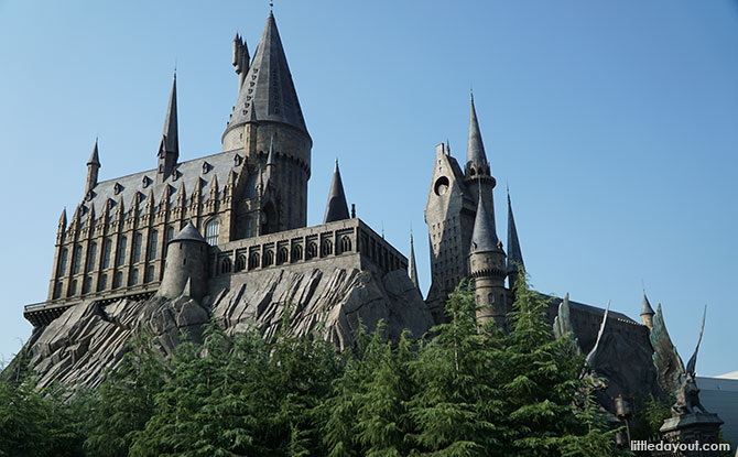 Harry Potter and the Forbidden Journey - Universal Studios Japan ride