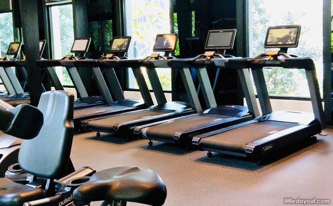 Gym at Village Hotel Sentosa
