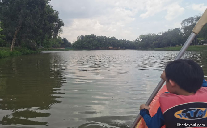 Kayaking is a good test of teamwork
