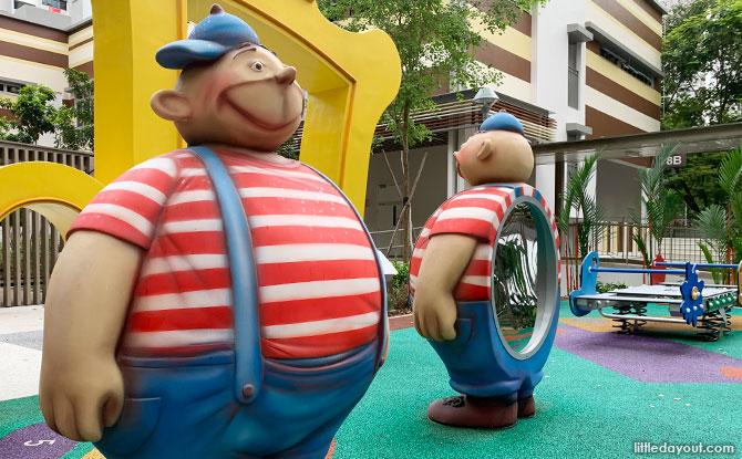 The WonderLand Playground at Dawson Vista - Twins Illusion