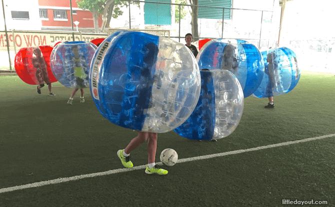Bubble Bump Bubble Soccer