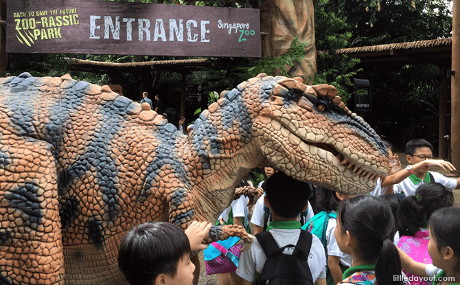 Meet the Dinos at the Singapore Zoo
