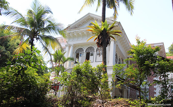 Danish Seamen's Church also known as Golden Bell Mansion at Mount Faber Park