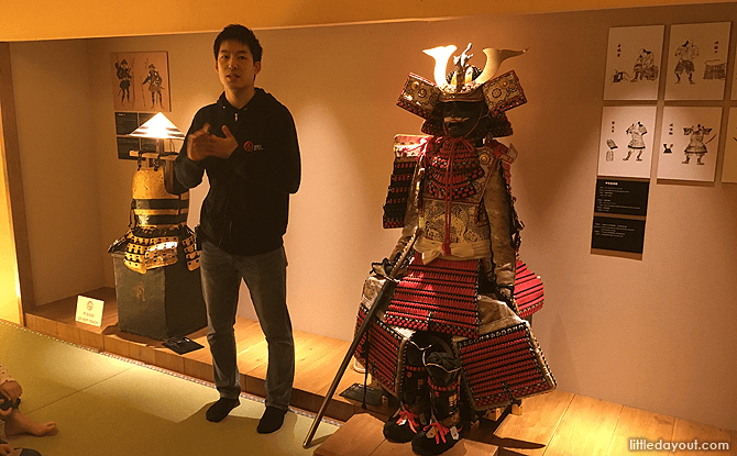 Try out Samurai Armour