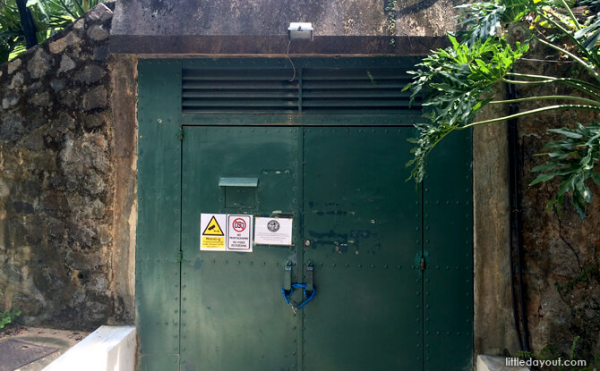 The Battle Box at Singapore's Fort Canning Park