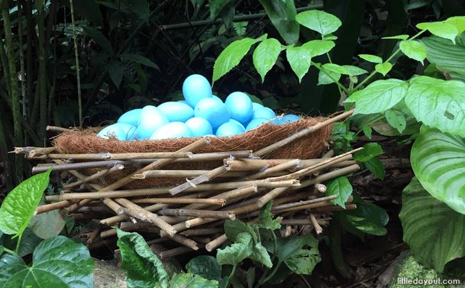 Smurfs' Lost Village, Easter Egg Hunt, Jurong Bird Park
