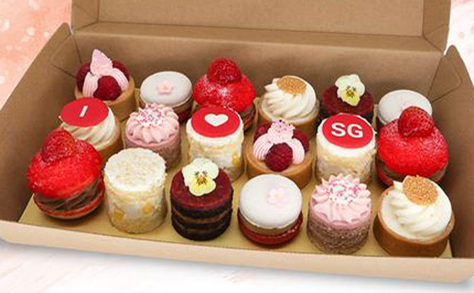 Happy 55 Sweet Treats Box from Goodwood Park - National Day themed food