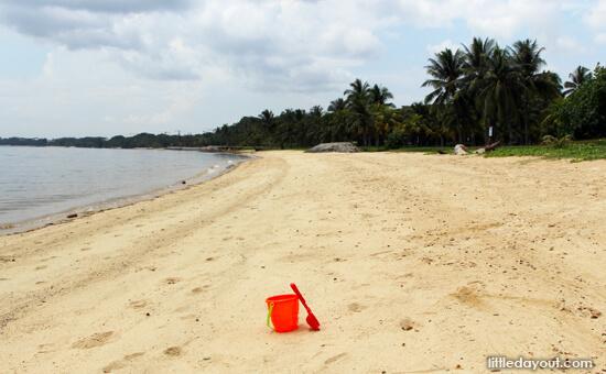 Pasir Ris Beach - Best Sand Play Areas