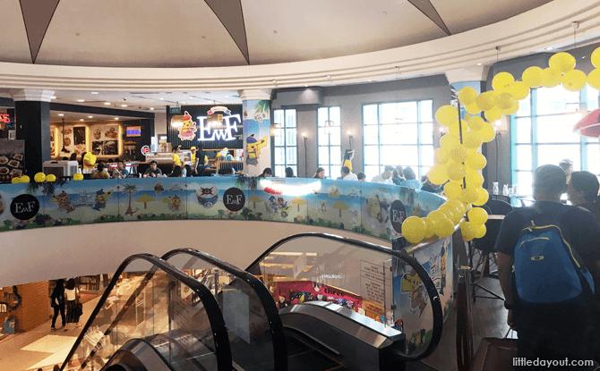 Pokemon Cafe, Bugis Junction