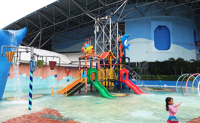 Pororo's Playground Pool is suitable for younger kids.