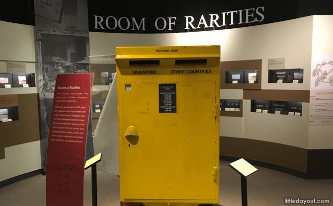 Room of Rarities, Singapore Philatelic Museum