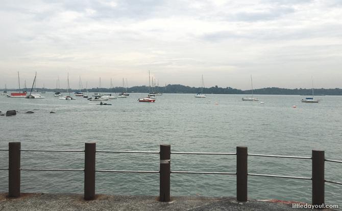 Sailing Boat Walk in from Changi Sailing Club