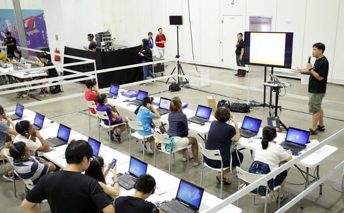 Participate in Tech Workshops at IMDA's Tech Saturdays (Upsized!) 2018