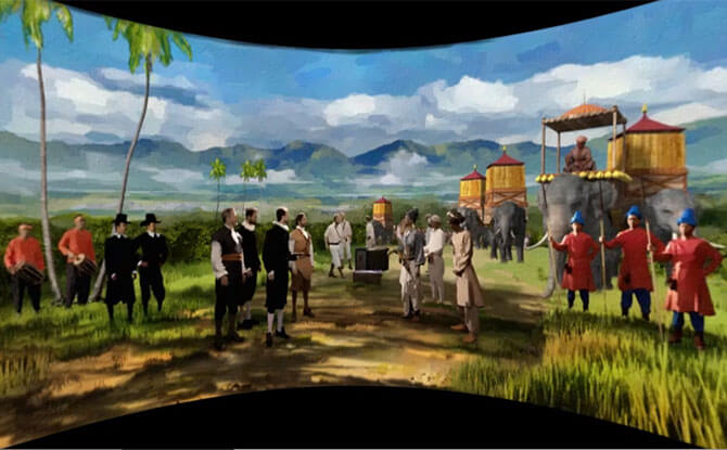 Explore An Old New World Digital Exhibition