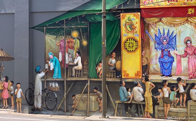 Chinese Opera Mural