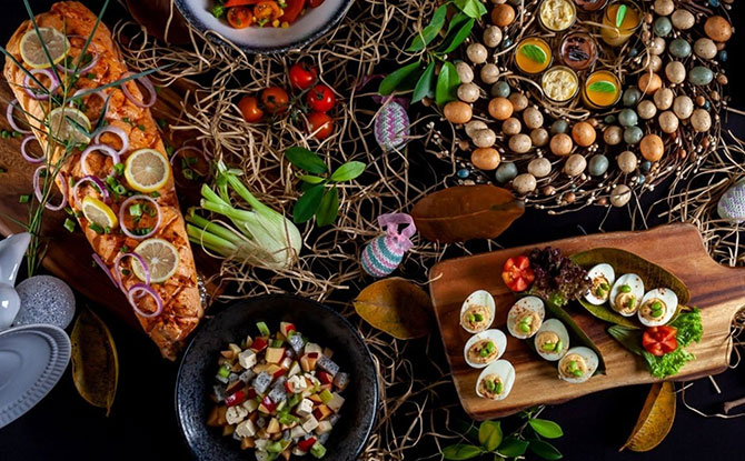 Easter Brunch 2019 at Porta in Park Hotel Clarke Quay