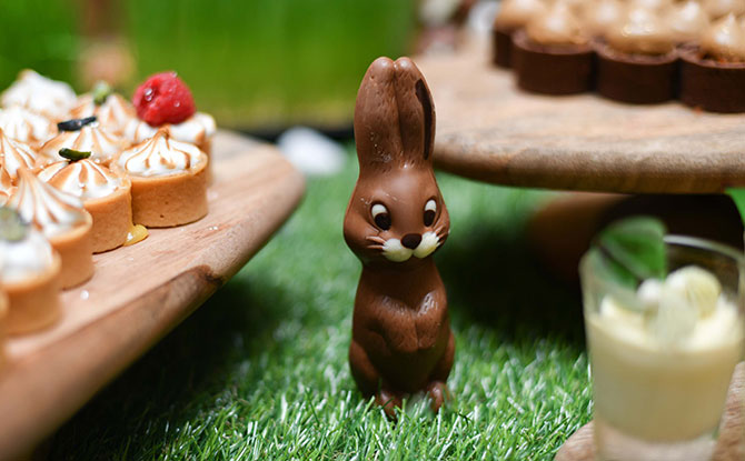 The Fullerton Hotels Singapore Egg Hunts