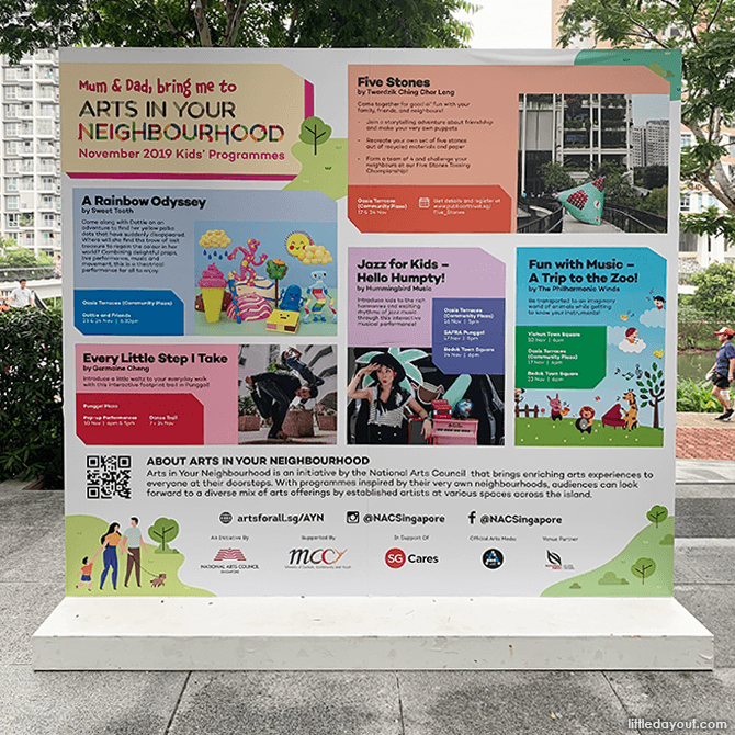 Arts in Your Neighbourhood Events on 23 & 24 Nov at Oasis Terraces