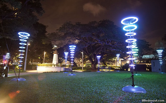 Halo - I Light Singapore - Bicentennial Edition