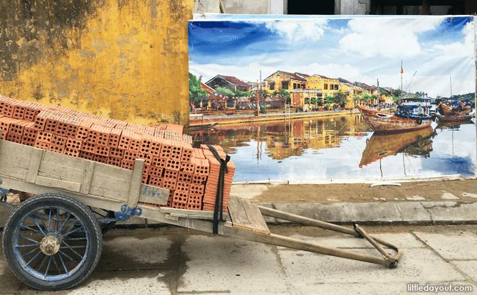Sights at Hoi An Ancient Town, Vietnam