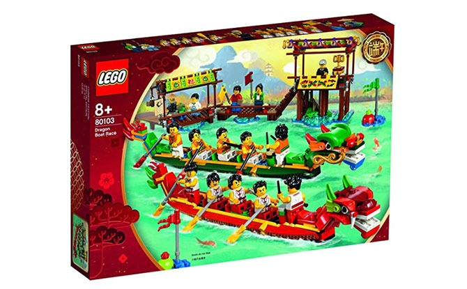 LEGO Chinese Dragonboat Set - Dumpling Festival with Kids