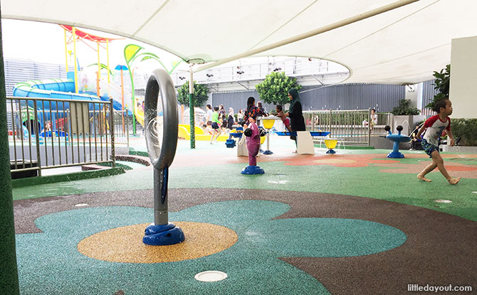 Outdoor playground at Northpoint