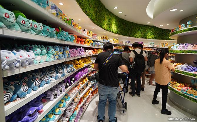Visiting the Pokemon Center Singapore at Changi Airport